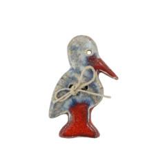 Magnet Petite Cigogne en céramique