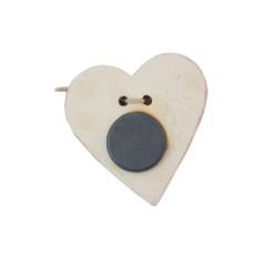 Magnet Coeur en céramique