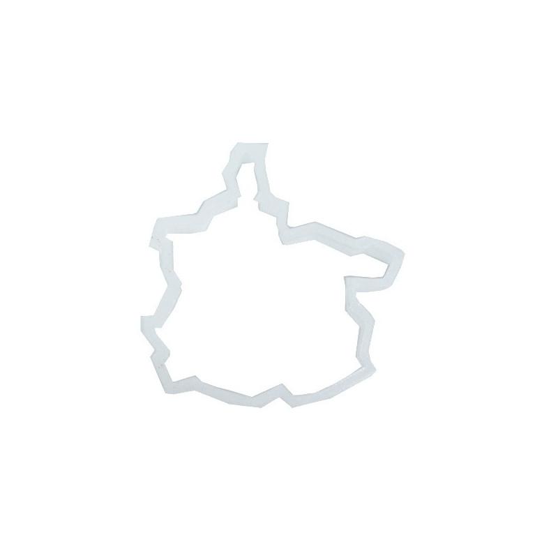 Emporte-pièce Carte Région Ardennes