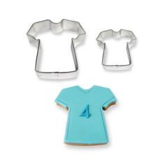 Lot de 2 Emporte-pièces T-shirt