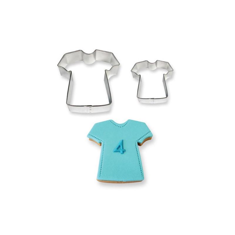 Lot de 2 Emporte-pièces Tee-shirt