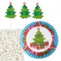 Caissettes et Pics Sapin de Noël