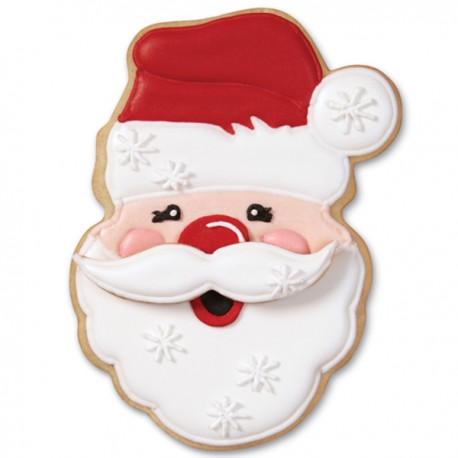 Emporte-pièce Tête de Père Noël