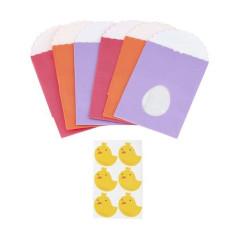 Sachets en Papier de Pâques (lot de 6)