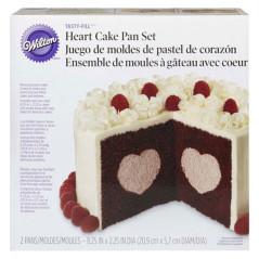 Moules à Gâteau insert Coeur