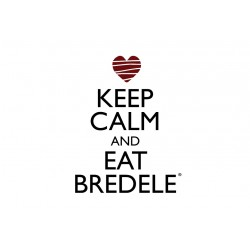 Carte Postale Keep Calm and Eat Bredele