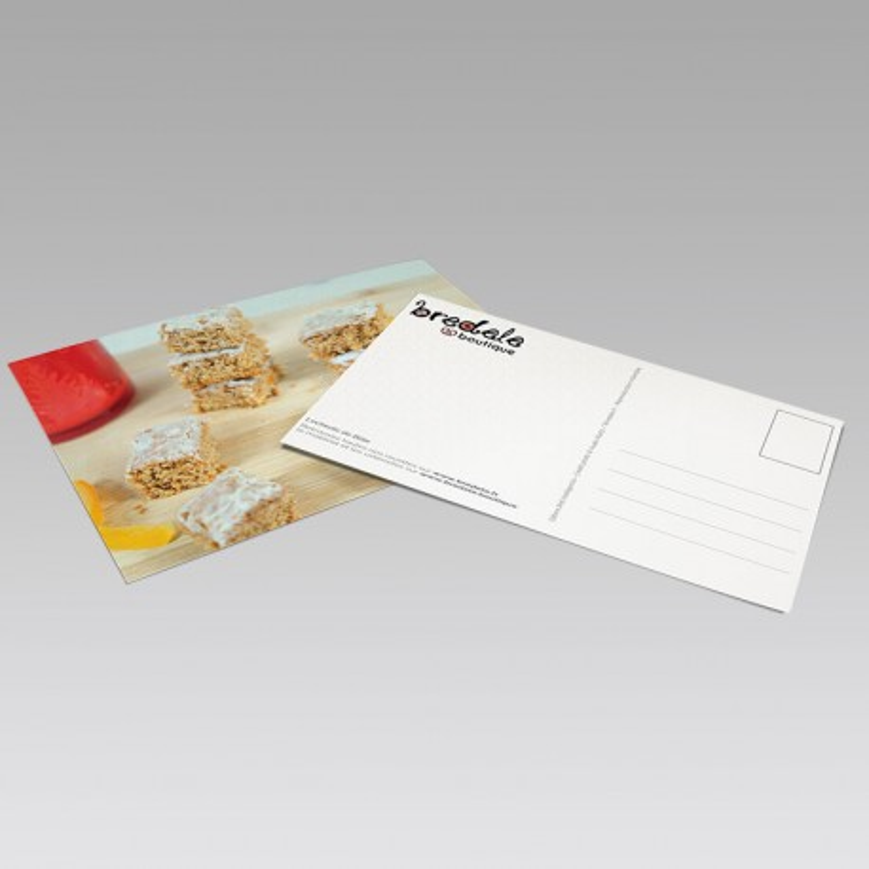 Carte Postale Bredele Leckerlis de Bâle