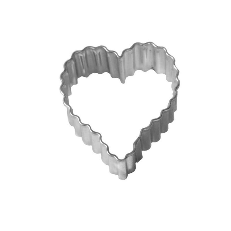 d coupoir coeur cannel 5 cm emporte pi ce coeur en fer. Black Bedroom Furniture Sets. Home Design Ideas