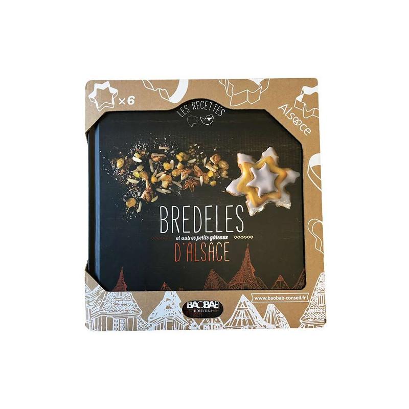 Coffret Livre Recettes Bredeles et Emporte-pièces