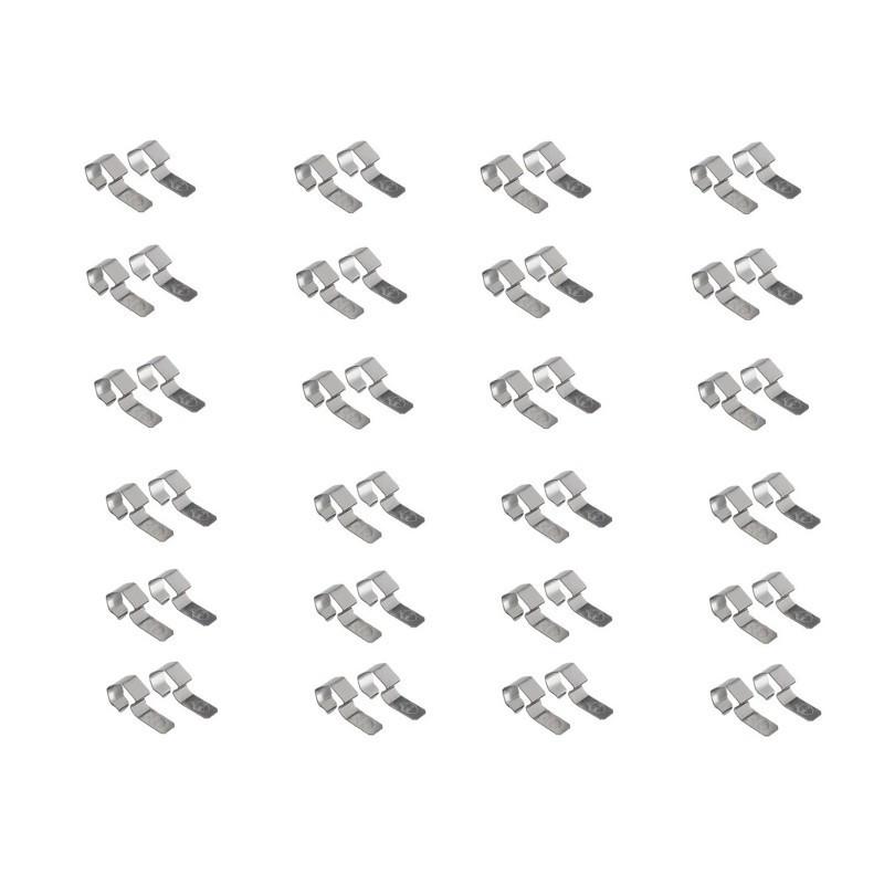 Lot de 48 Clips pour Bocaux