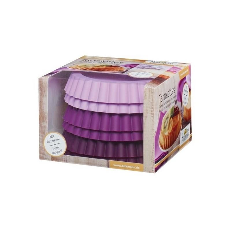 moules tartelettes moules p tisserie en silicone par lot de 4. Black Bedroom Furniture Sets. Home Design Ideas