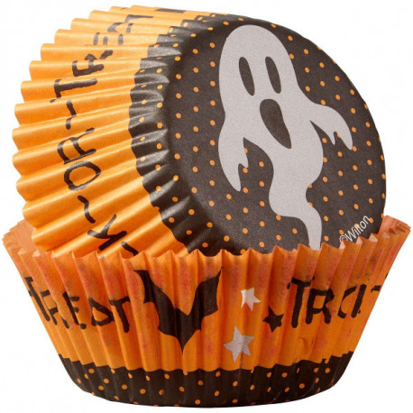 Caissettes Muffins Halloween