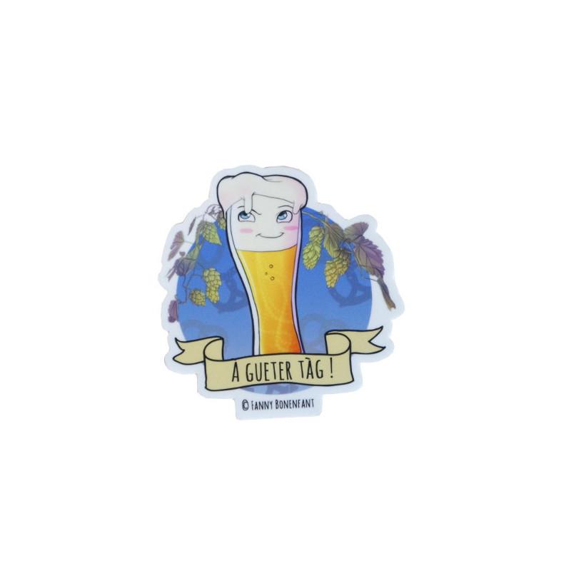 Sticker Verre à bière