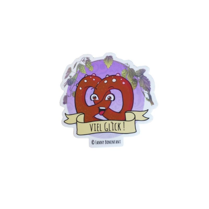 Sticker Bretzel