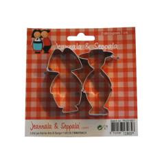 Emporte pièces Jeannala et Seppala 7cm
