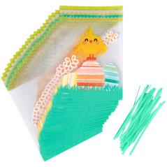 Sachets décor Poussin de Pâques