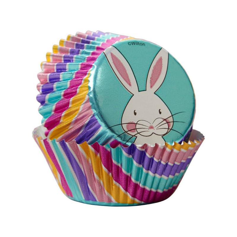 Caissettes Lapin de Pâques pour Muffins