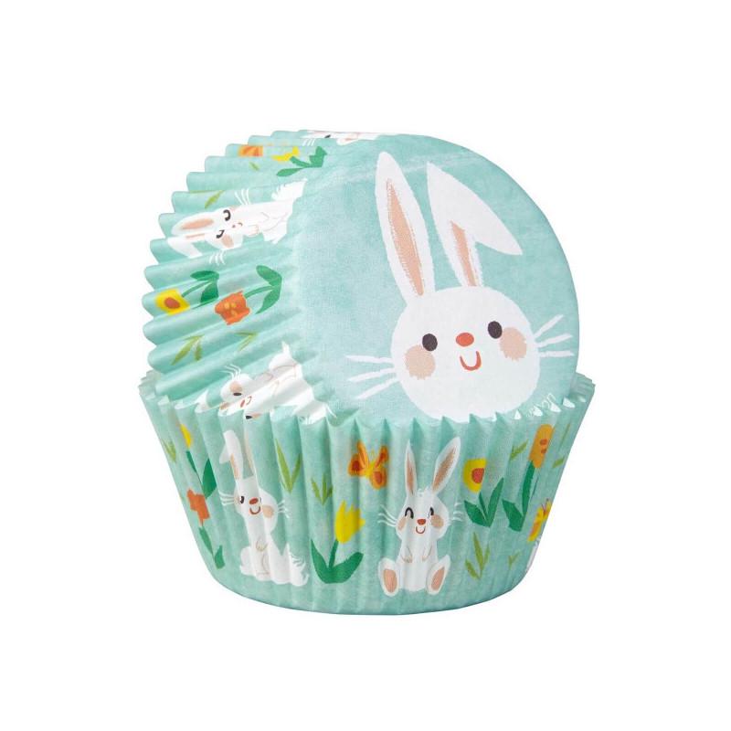 Caissettes Lapins de Pâques pour Muffins