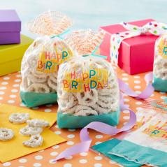 Sachets Happy Birthday (lot de 20)