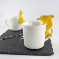 Coffret de 6 emporte-pièces Café thème Animaux