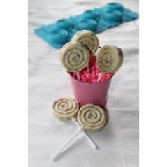 Moule à Sucettes Cupcakes