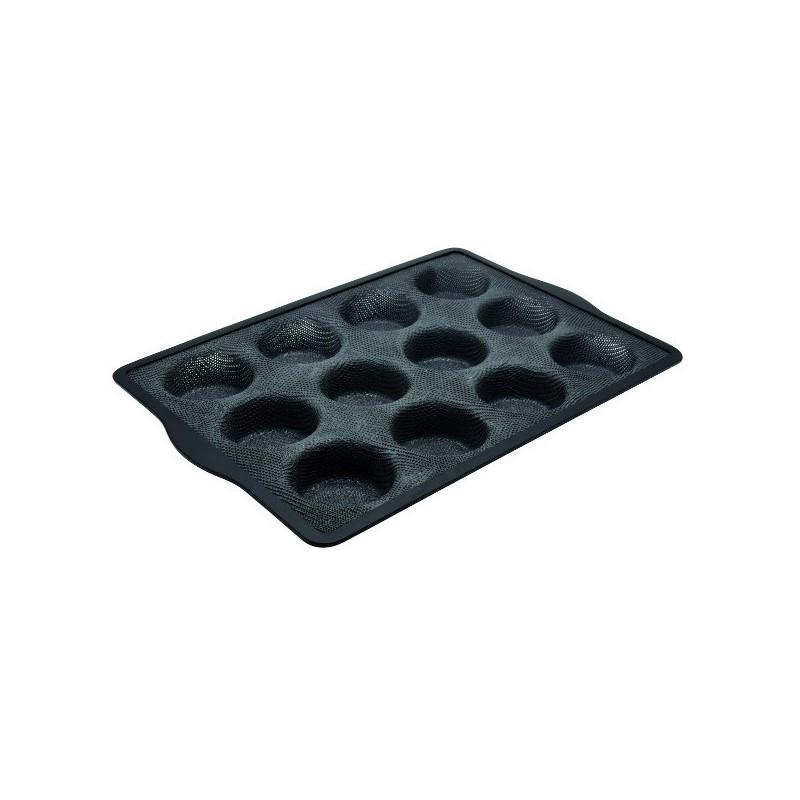 Moule à Muffins silicone 12 Empreintes