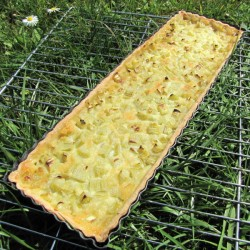 Moule à Tarte Rectangle fond amovible