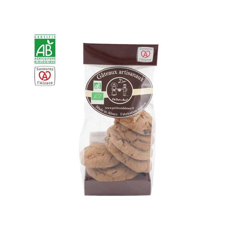Cookies au cacao et pépites de chocolat