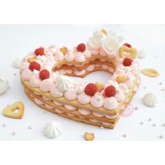 Gabarits Love cake