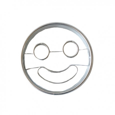 D coupoir smiley sourire emporte pi ce smiley sourire en for Emporte piece carre patisserie