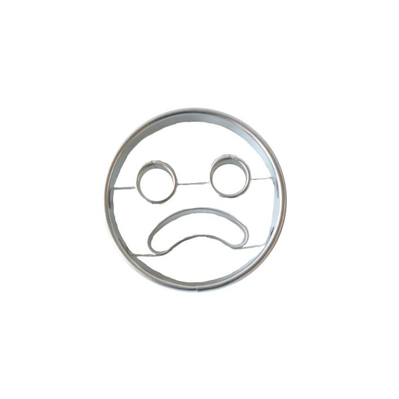 Emporte-pièce Smiley triste