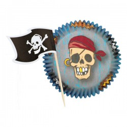 Caissettes Pirate pour Muffins