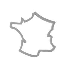Emporte-pièce Carte France