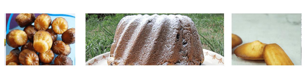 Moules et Plaques des Pâtisseries de nos régions