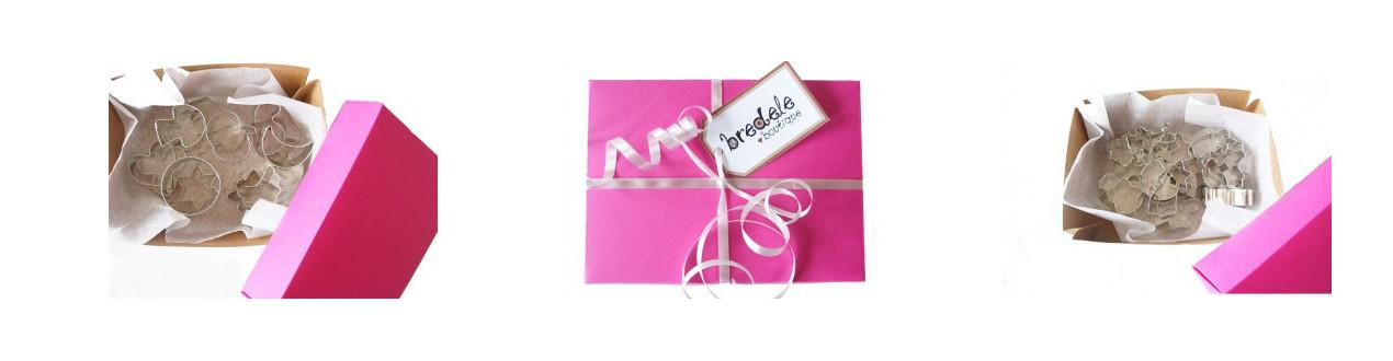 Boites cadeaux avec des emporte-pièces