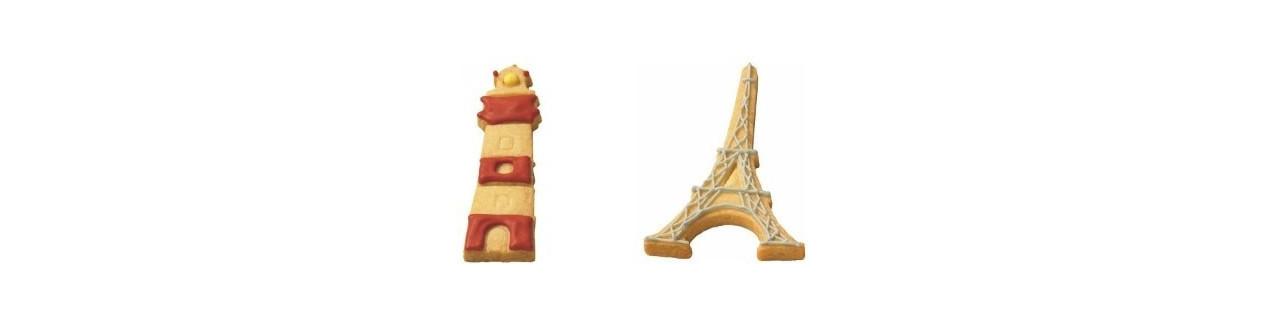 Emporte-pièces lieux et monuments