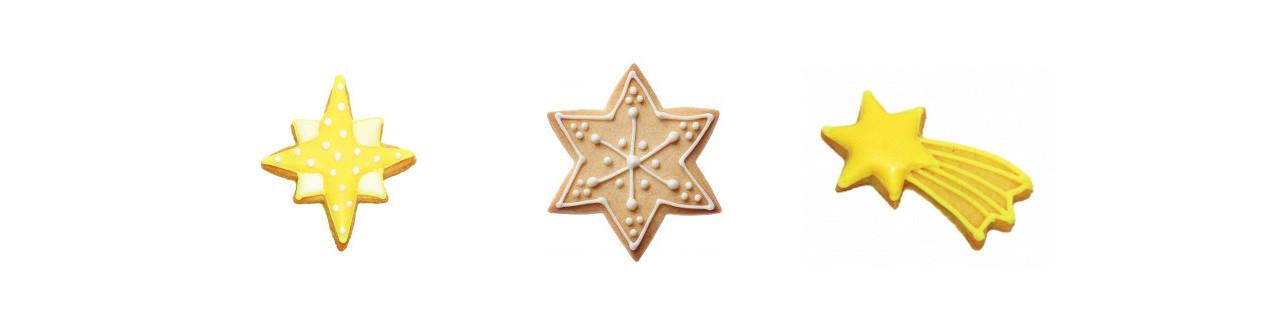 Emporte-pièce en forme d'étoile - Emporte-pièces étoiles